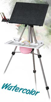 watercolor easel